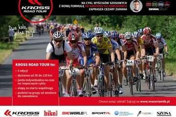 Kross Road Tour – pierwszy w Polsce cykl wyścigów szosowych dla amatorów
