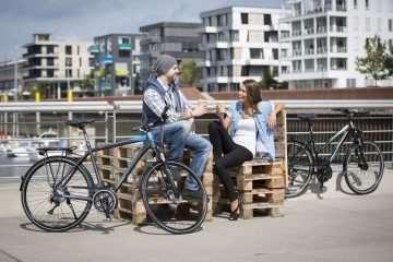 Jazda rowerem 13 razy bardziej ekologiczna niż podróż autem