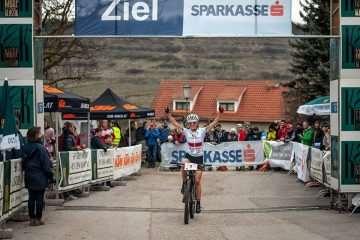 Maja Włoszczowska wygrywa zawody Kamptal Classic w Langenlois