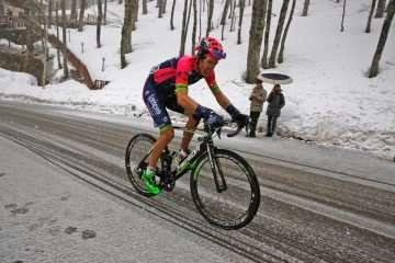 Przemysław Niemiec 9. na królewskim etapie Tirreno-Adriatico!