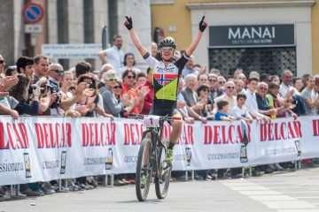 Gunn-Rita Dahle Flesjaa wygrała po raz 1. w sezonie