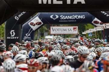 Bike Maraton Wałbrzych – ponad 1300 kolarzy pod Chełmcem