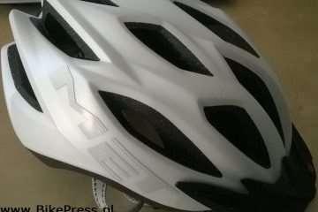 Test kasku rowerowego Met Crossover