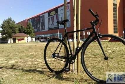 Test roweru miejskiego SimplyCity napędzanego paskiem zębatym