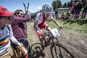 ME XC: Maja Włoszczowska zajmuje 4. miejsce. Najlepsza Jolanda Neff