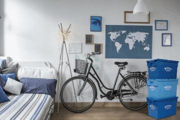 Ciekawe rozwiązanie na przezimowanie roweru – Więcej Miejsca