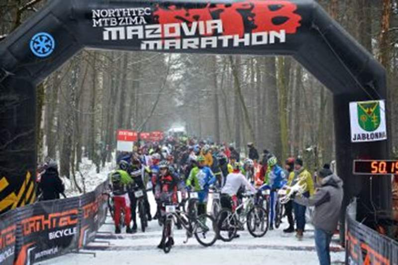 22 stycznia rozpoczynamy zimowy cykl maratonów Northtec MTB Zimą 2017