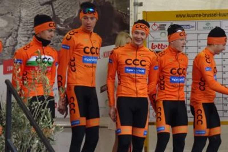 CCC Sprandi Polkowice na Tour de Pologne