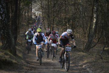 Finał cyklu wyścigów Northtec MTB Zimą 2016 w Mrozach 13 marca