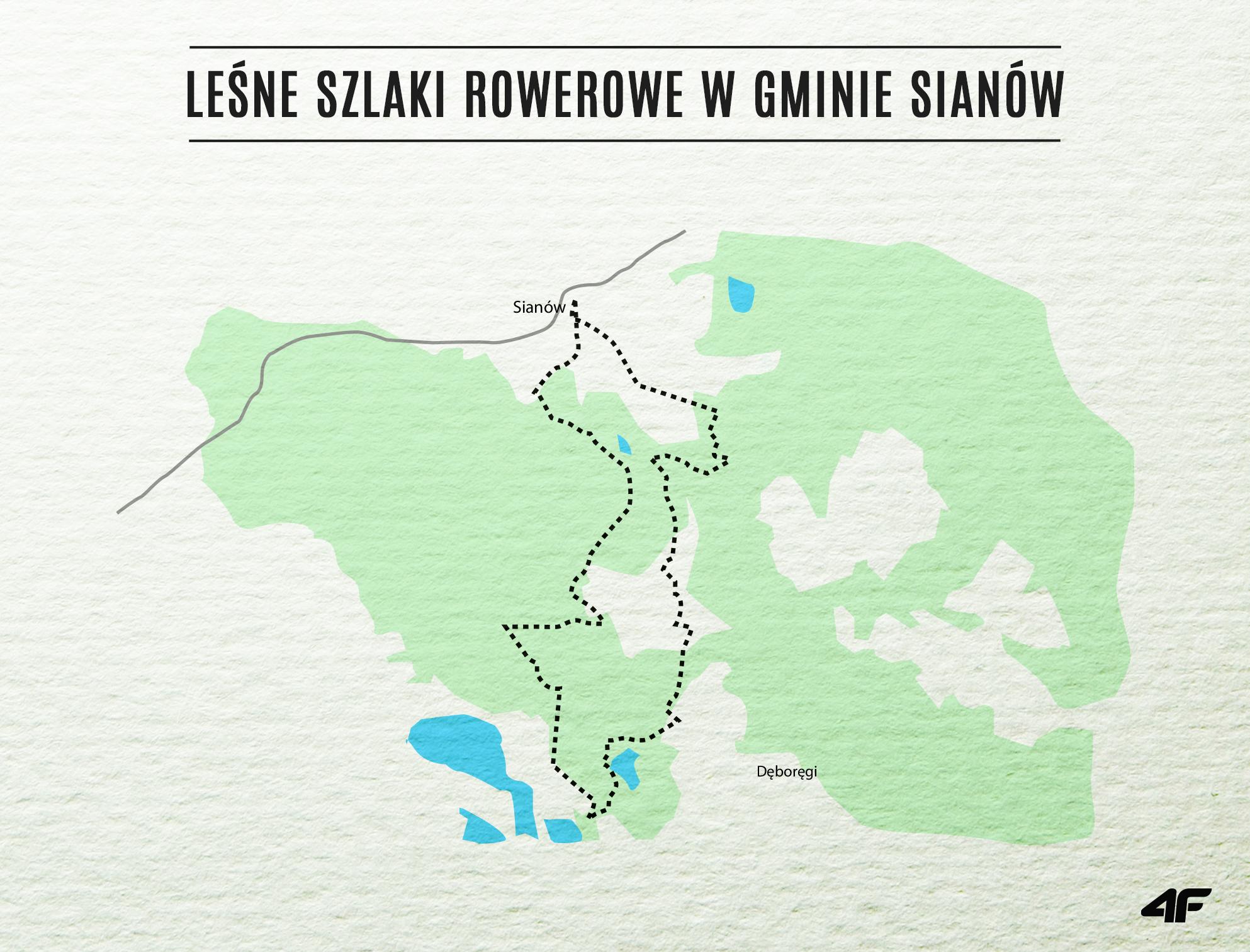 leśne