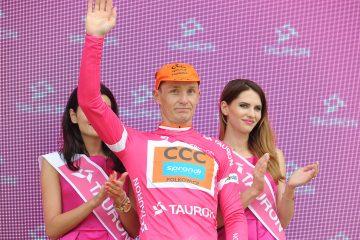 Tour de Pologne: Jarosław Marycz pierwszym liderem klasyfikacji górskiej