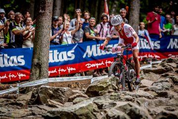 Maja Włoszczowska tuż za podium na Mistrzostwach Świata MTB