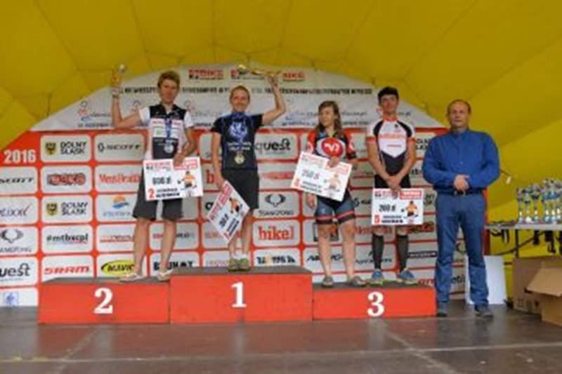 Ziółkowska i Ficek wystartowali w Bike Maratonie w Myślenicach