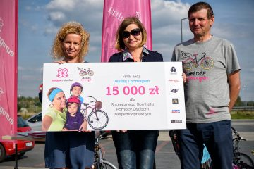 Wykręcili 15 000 zł dla dzieci z Gliwic