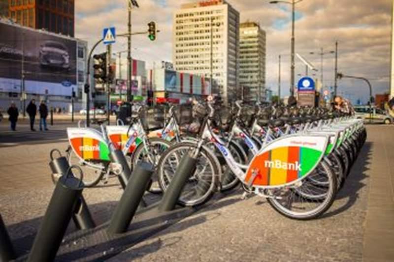 Rowery miejskie coraz bardziej popularne