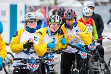 Zimowy Poland Bike Marathon – relacja i foto z Marek