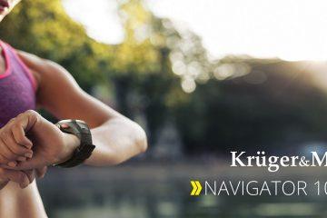 Navigator 100  – pierwszy zegarek sportowy w ofercie Kruger&Matz
