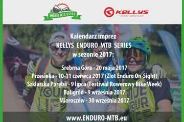 """Ruszają zapisy na I edycję """"Kellys Enduro MTB Series"""""""