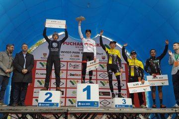 Wysokie lokaty kolarzy z VSU MTB Team w zawodach Pucharu Polski
