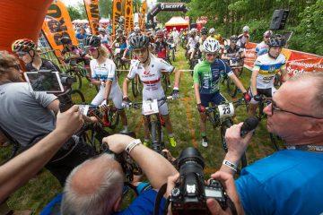 Jelenia Góra Trophy Maja Włoszczowska MTB Race. Wawak i Włoszczowska najlepsi