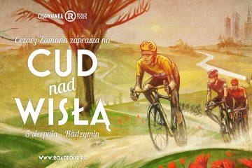 Kolarski Cud nad Wisła: Cisowianka Road Tour w Radzyminie