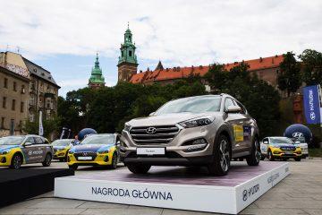 Hyundai przekazał flotę 57 samochodów do obsługi 74. Tour de Pologne