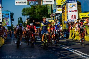 Tour de Pologne: Caleb Ewan zwycięzcą najdłuższego etapu