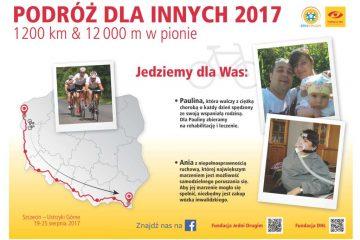 """""""Podróż dla innych"""" – rowerem 1200 KM przez Pomorze, Karkonosze i Ustrzyki Górne"""