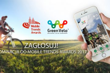 Aplikacja Szlak GreenVelo nominowana do Mobile Trends Awards!