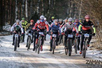 Zima w lesie, wiosna na mecie: Northtec MTB Zimą w Karczewie