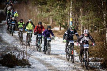 Finał Northtec MTB Zimą w Długosiodle 18 marca