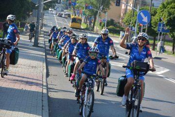 Do Międzyzdrojów rowerem dla Filipa – rajd charytatywny uczniów z Gliwic