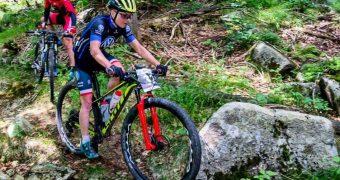 Michalina Ziółkowska z Volkswagen Samochody Użytkowe MTB Team druga na Bike Adventure