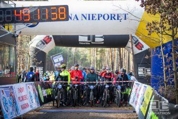 Inauguracja Zimowego Poland Bike Marathon w Nieporęcie