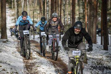 Relacja z finału Northtec MTB Zimą w Długosiodle