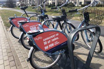MEVO – rowery elektryczne na pomorzu już dostępne