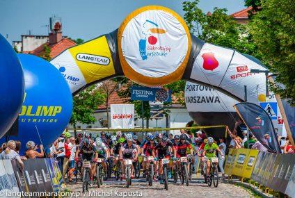 Upalny Maraton Rowerowy Lang Team w Wilanowie