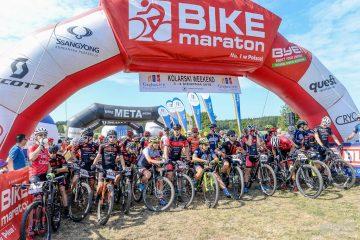Wojciech Halejak wygrywa Bike Maraton w Obiszowie. Kolarski weekend z nami
