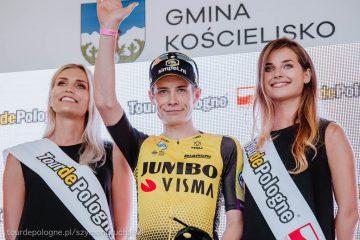 Tour de Pologne: Jonas Vingegaard zwycięzcą 6. etapu i nowym liderem