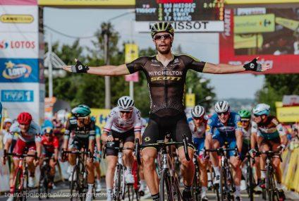Tour de Pologne: Luka Mezgec wygrywa w Bielsku-Białej