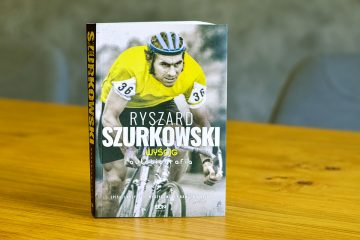 """""""Ryszard Szurkowski. Wyścig. Autobiografia"""" – mistrz kolarstwa walczy o powrót do zdrowia"""