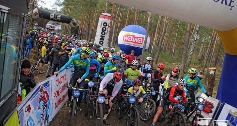 Zimowy Poland Bike Marathon w Nieporęcie