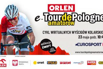 ORLEN e-Tour de Pologne Amatorów wkracza w decydującą fazę