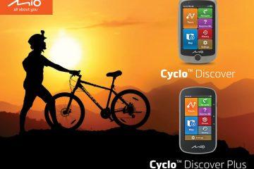 Mio Cyclo Discover – nowa seria nawigacji dla miłośników turystyki rowerowej