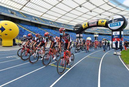 77. Tour de Pologne wystartował ze Stadionu Śląskiego